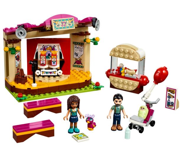 LEGO Friends Pokaz Andrei w parku - 395126 - zdjęcie 2