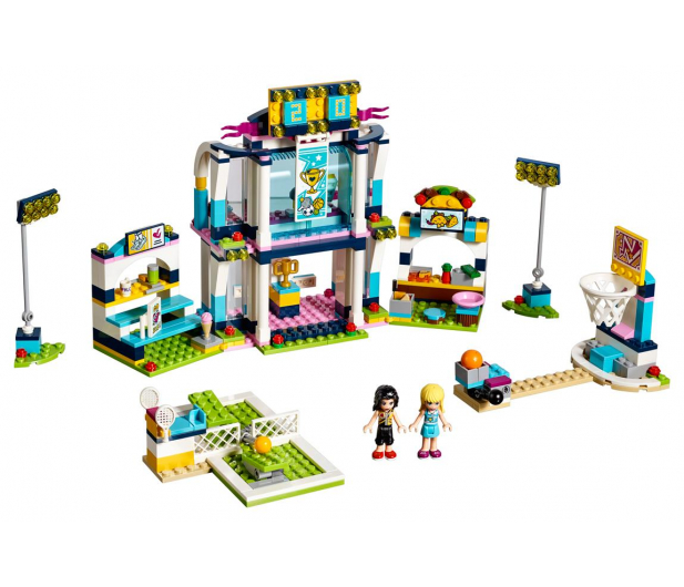 LEGO Friends Stadion sportowy Stephanie - 395129 - zdjęcie 2
