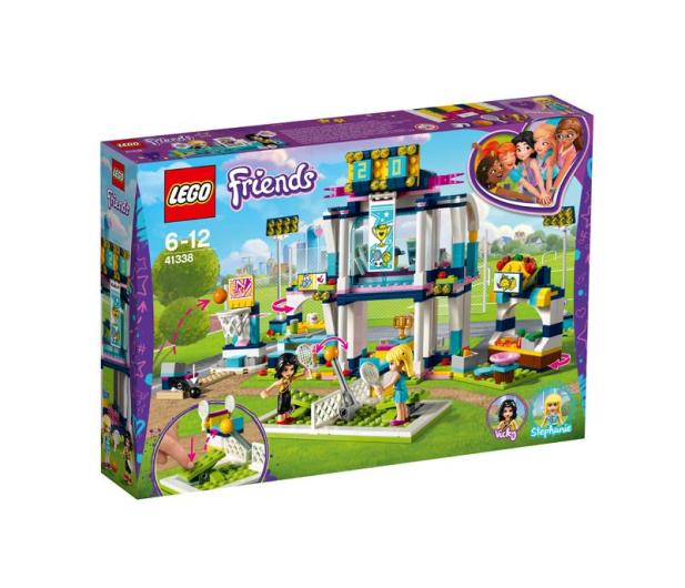 LEGO Friends Stadion sportowy Stephanie - 395129 - zdjęcie 1