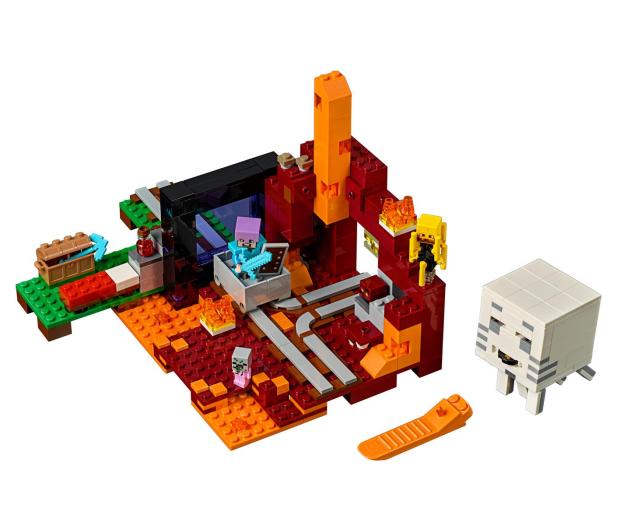 LEGO Minecraft Portal do Netheru - 395137 - zdjęcie 2