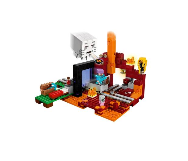LEGO Minecraft Portal do Netheru - 395137 - zdjęcie 3