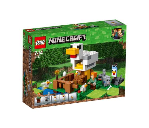 LEGO Minecraft Kurnik - 395134 - zdjęcie