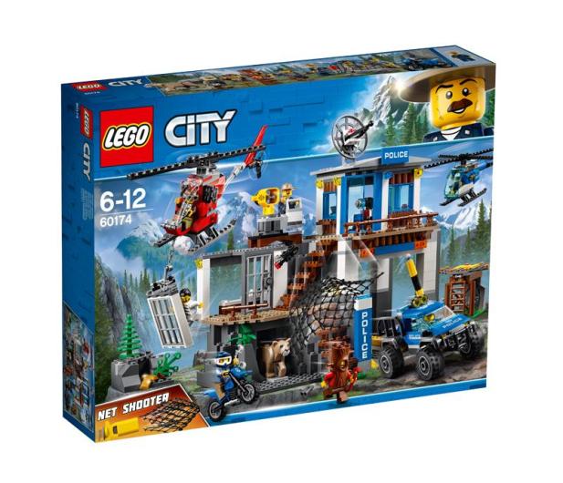 LEGO City Górski posterunek policji - 394052 - zdjęcie