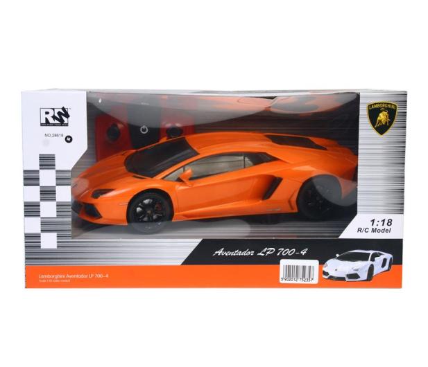 Mega Creative Samochód Lamborghini RC pomarańczowy - 398294 - zdjęcie 2