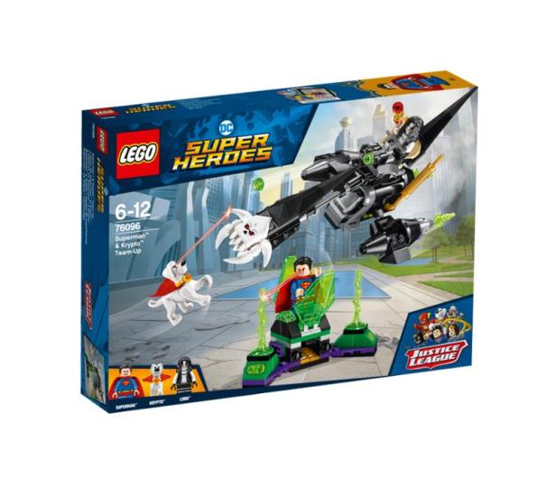 LEGO DC Comic Super Heroes Superman i Krypto łączą siły - 395184 - zdjęcie