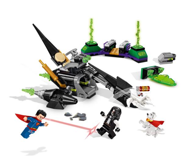 LEGO DC Comic Super Heroes Superman i Krypto łączą siły - 395184 - zdjęcie 4