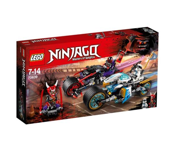 LEGO Ninjago Wyścig uliczny Wężowego Jaguara - 395156 - zdjęcie