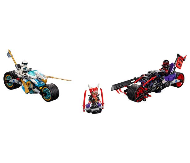 LEGO Ninjago Wyścig uliczny Wężowego Jaguara - 395156 - zdjęcie 2
