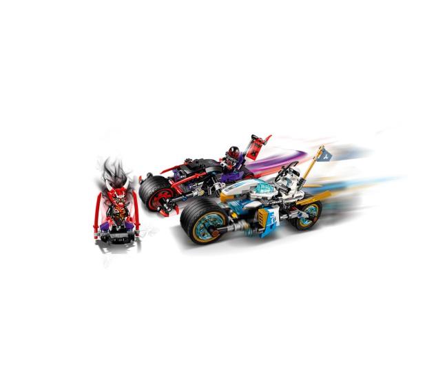 LEGO Ninjago Wyścig uliczny Wężowego Jaguara - 395156 - zdjęcie 3