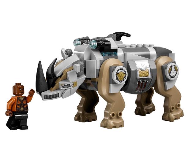 LEGO Marvel Super Heroes Pojedynek z nosorożcem - 395187 - zdjęcie 5