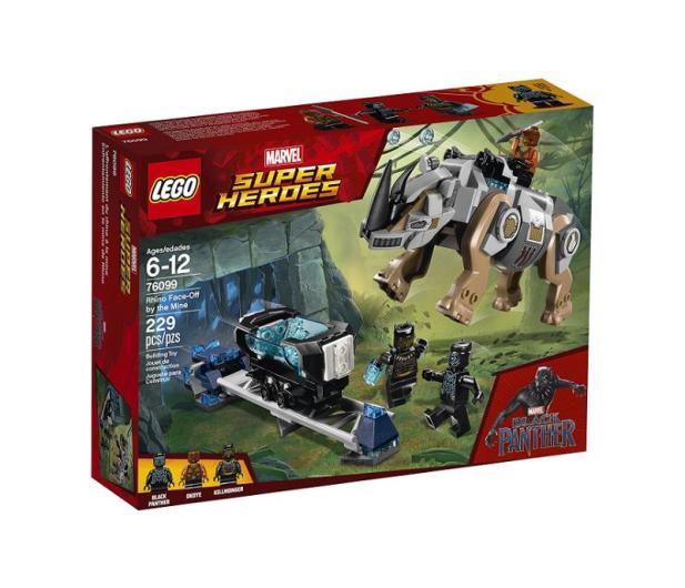 LEGO Marvel Super Heroes Pojedynek z nosorożcem - 395187 - zdjęcie