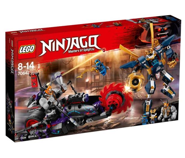 LEGO NINJAGO Killow kontra Samuraj X - 395160 - zdjęcie
