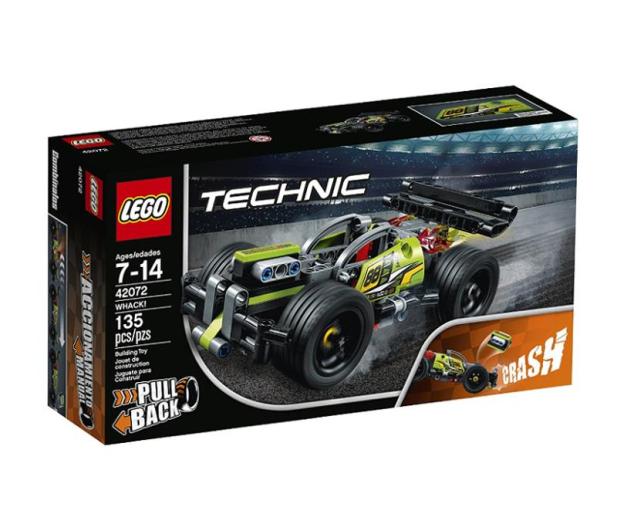 LEGO Technic Żółta wyścigówka - 395190 - zdjęcie