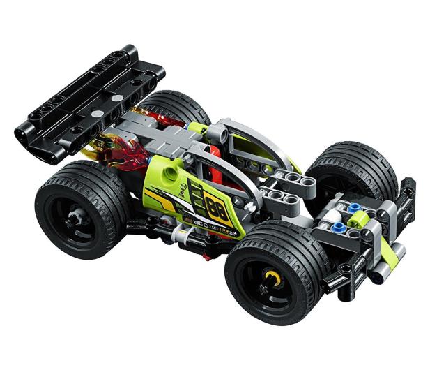 LEGO Technic Żółta wyścigówka - 395190 - zdjęcie 3