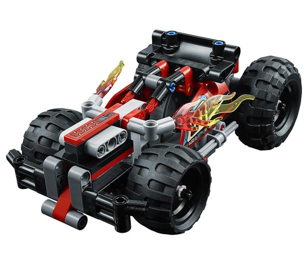 LEGO Technic Czerwona wyścigówka - 395191 - zdjęcie 3