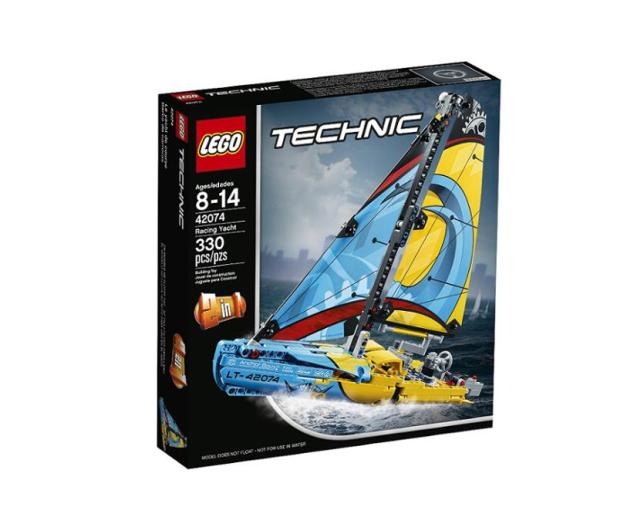 LEGO Technic Jacht wyścigowy - 395192 - zdjęcie