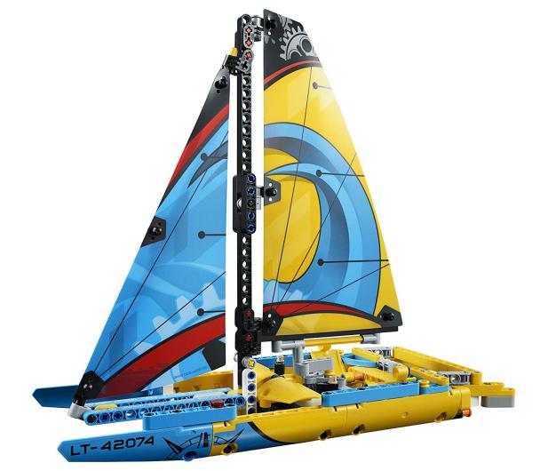 LEGO Technic Jacht wyścigowy - 395192 - zdjęcie 4