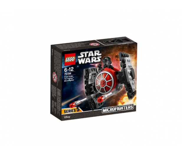 LEGO Star Wars Myśliwiec TIE Najwyższego porządku - 395163 - zdjęcie 1