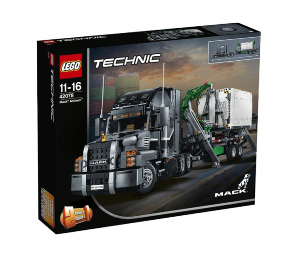 LEGO Technic MACK Anthem - 395197 - zdjęcie