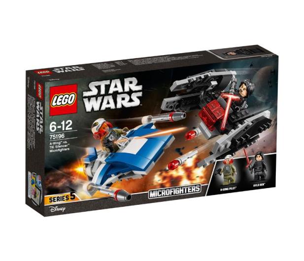 LEGO Star Wars A-Wing kontra TIE Silencer - 395166 - zdjęcie