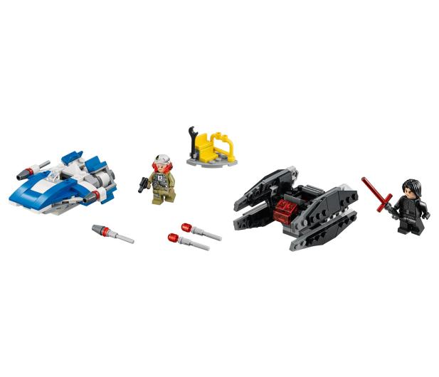 LEGO Star Wars A-Wing kontra TIE Silencer - 395166 - zdjęcie 4
