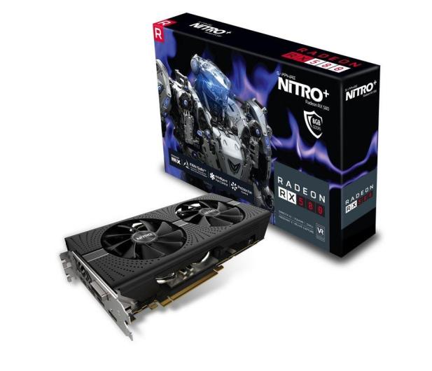 Sapphire Radeon RX 580 NITRO+ 8GB GDDR5 - 398043 - zdjęcie