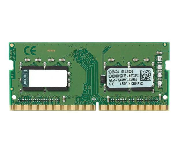Kingston 4GB (1x4GB) 2400MHz CL17  - 396343 - zdjęcie