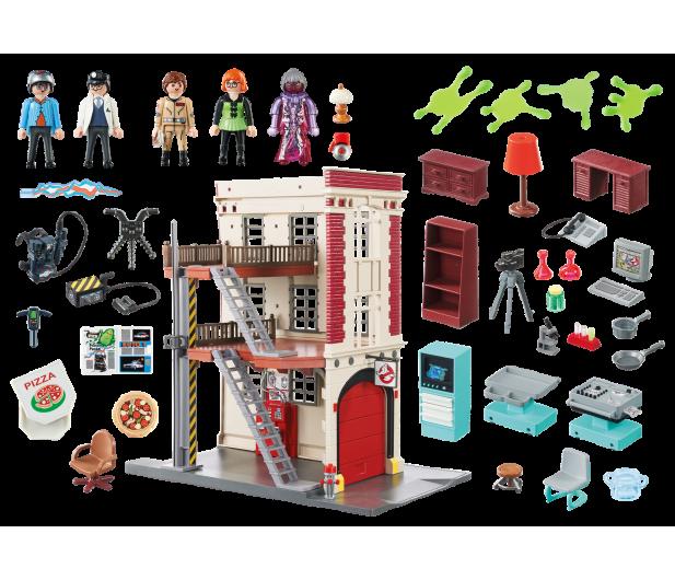 PLAYMOBIL Ghostbusters Pogromcy Duchów - Straż pożarna - 364378 - zdjęcie 5