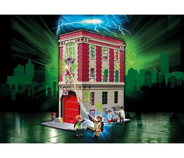 PLAYMOBIL Ghostbusters Pogromcy Duchów - Straż pożarna - 364378 - zdjęcie 2