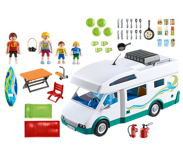 PLAYMOBIL Rodzinne auto kempingowe  - 365178 - zdjęcie 2