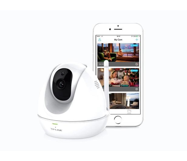 TP-Link NC450 WiFi 300Mb/s HD LED IR (dzień/noc) obrotowa - 360345 - zdjęcie 4