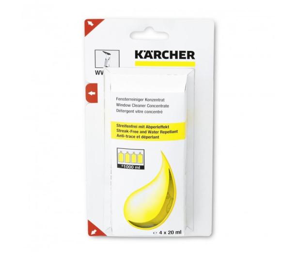 Karcher Środek do czyszczenia okien koncentrat, saszetki - 366248 - zdjęcie