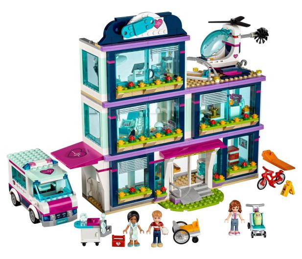 LEGO Friends Szpital w Heartlake - 367052 - zdjęcie 4
