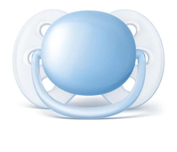 Philips Avent Smoczek Ortodontyczny 0-6m+ Niebieski - 367486 - zdjęcie 2