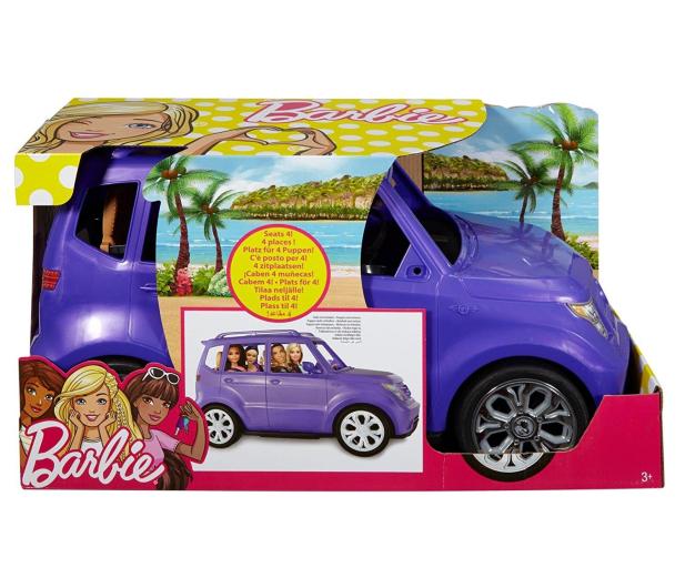 Barbie Fioletowy SUV - 363599 - zdjęcie 6