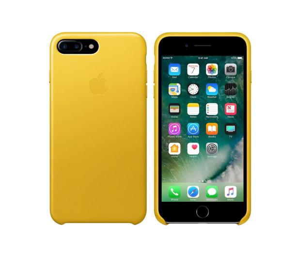 Apple Leather Case iPhone 7 Plus/8 Plus Sunflower - Etui i ...