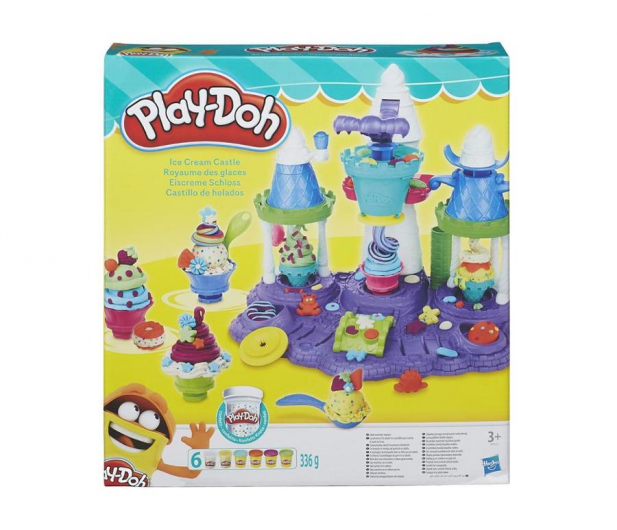 Play-Doh Lodowy Zamek - 324851 - zdjęcie