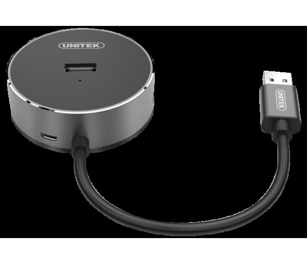 Unitek HUB 3x USB 2.0 + Audio  - 369890 - zdjęcie 2