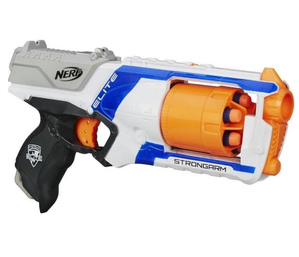 NERF N-Strike Elite Wyrzutnia Strongarm - 162672 - zdjęcie