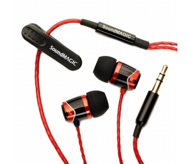 SoundMagic E10 Black-Red - 156739 - zdjęcie 2