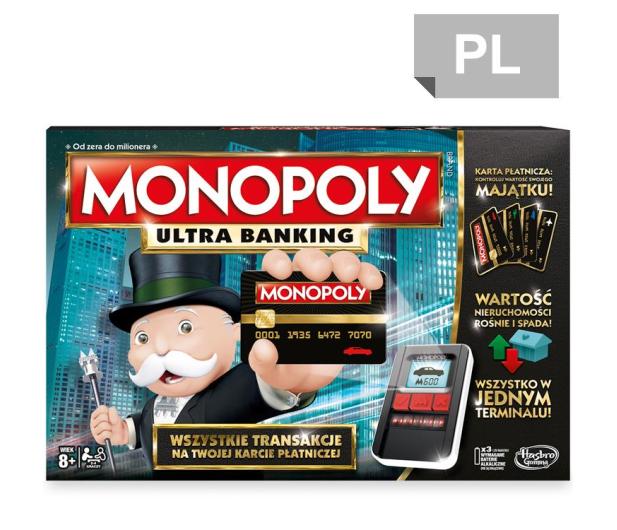 Hasbro Monopoly Ultra Banking - 325295 - zdjęcie