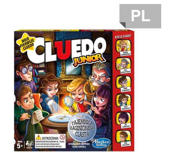 Hasbro Cluedo Junior - 357754 - zdjęcie