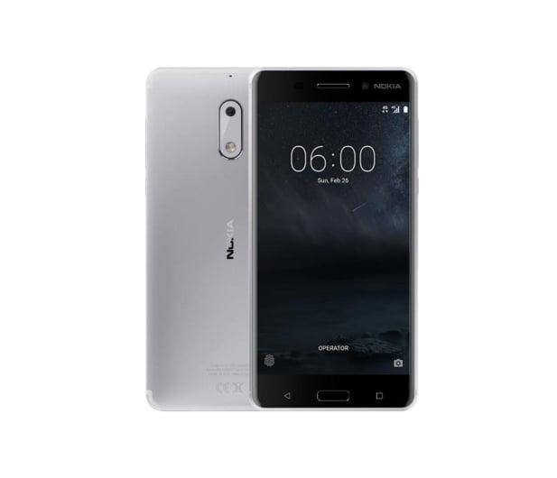 Nokia 6 Dual SIM srebrnobiały - 357309 - zdjęcie