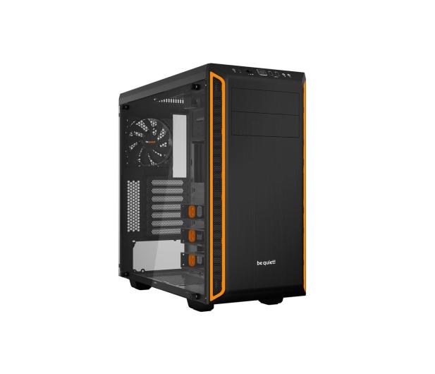 be quiet! Pure Base 600 czarno-pomarańczowa z oknem - 351875 - zdjęcie