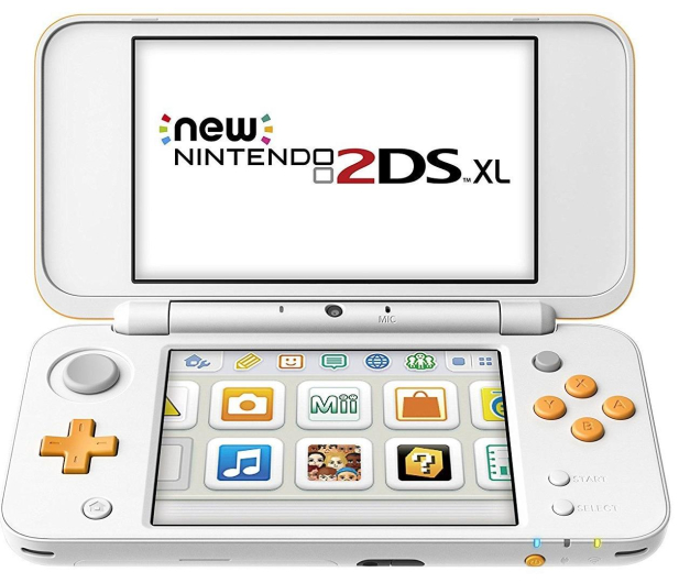 Nintendo New 2DS XL White & Orange - 374636 - zdjęcie 2