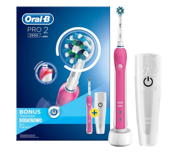 Oral-B Pro 2500 Pink - 375180 - zdjęcie 2