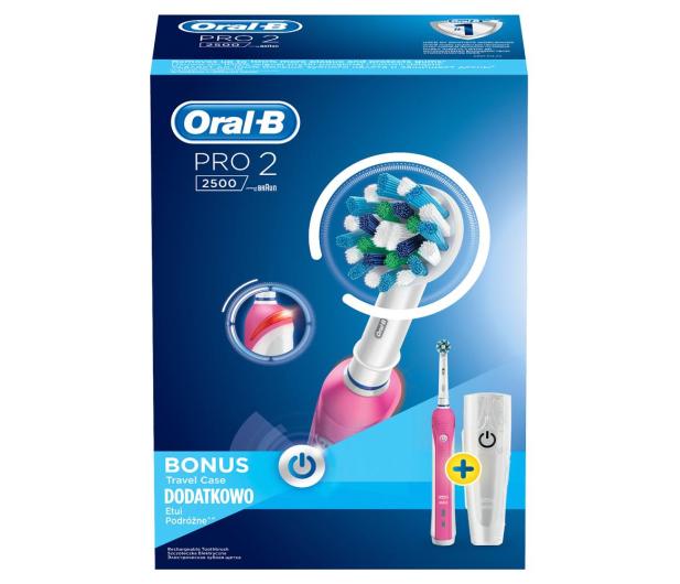 Oral-B Pro 2500 Pink - 375180 - zdjęcie 3