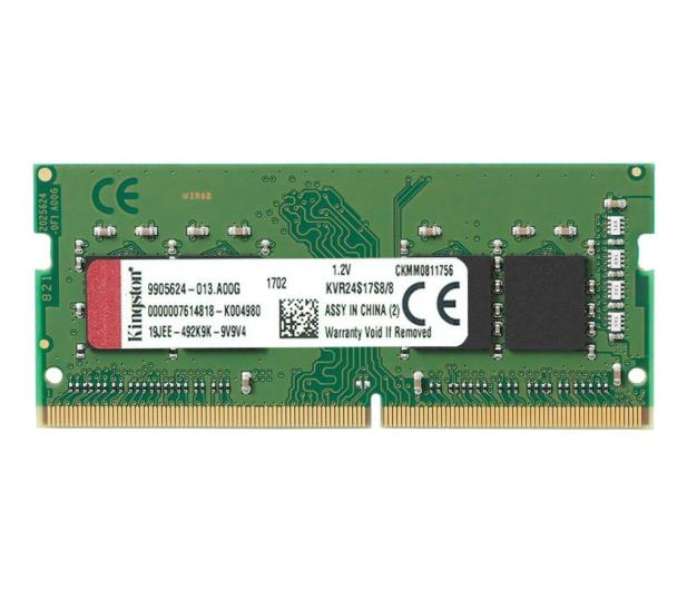 Kingston 8GB (1x8GB) 2400MHz CL17  - 369772 - zdjęcie