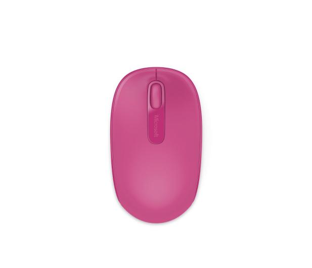 Microsoft 1850 Wireless Mobile Mouse Magenta Pink - 247271 - zdjęcie