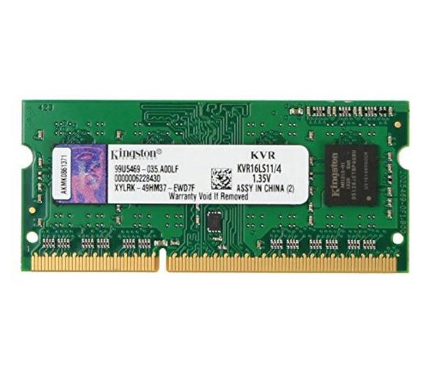 Kingston 4GB 1600MHz DDR3L CL11 1.35V - 81524 - zdjęcie